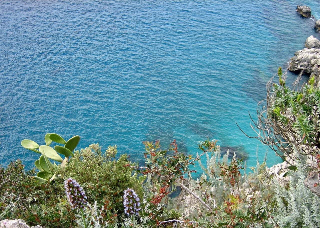 The beautiful waters of the Mediterranean Sea