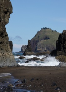 Cascade Head from Hidden Beach
