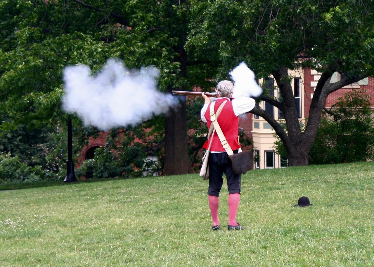Revolutionary Reenactor2 Boston MA 07-2007