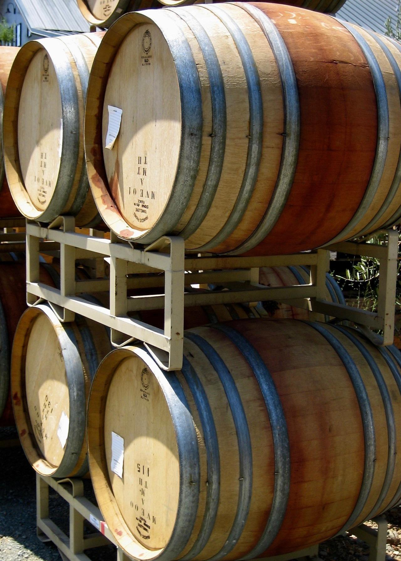 Wine Barrels Sonoma 08-2006