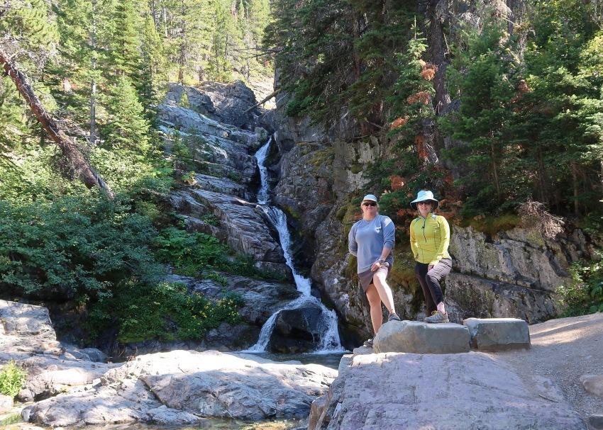 Lisa and I at Aster Falls