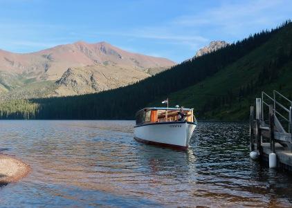 Sinopah on Two Medicine Lake