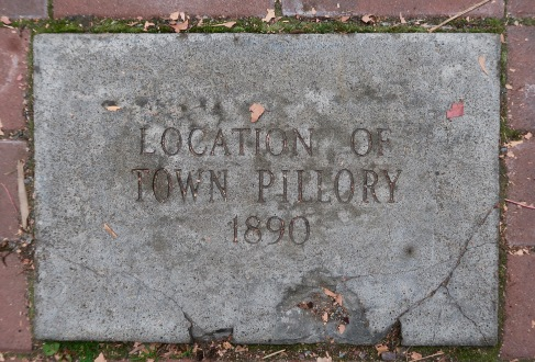 Town Pillory Marker
