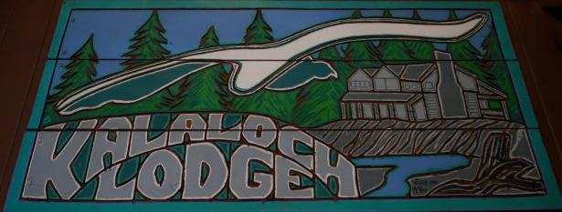 Kalaloch Lodge Sign