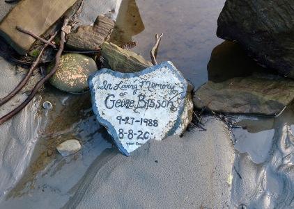 Memorial Rock at Shipwreck Point