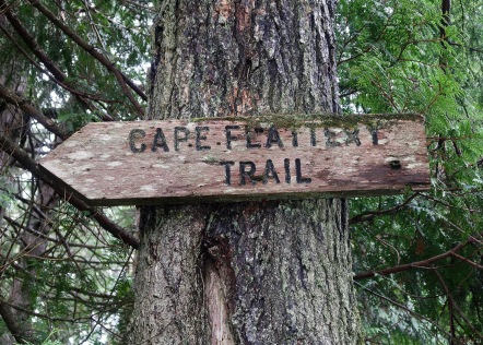 Cape Flattery Trail Sign