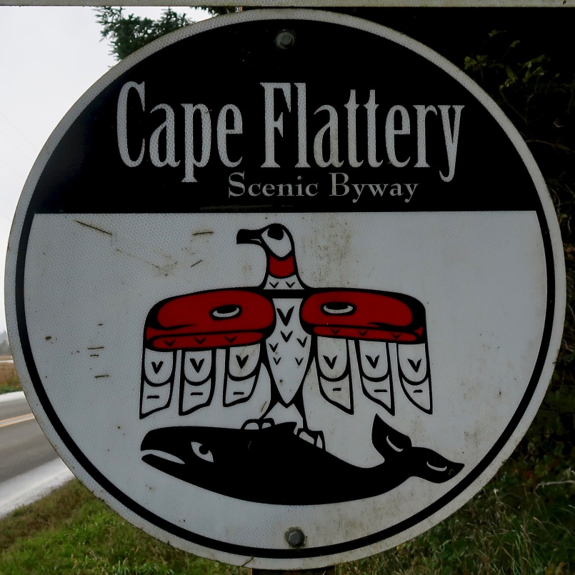 Cape Flattery Scenic Byway Sign