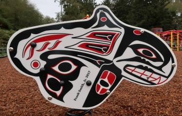 Native Art Orca Playground Equipment
