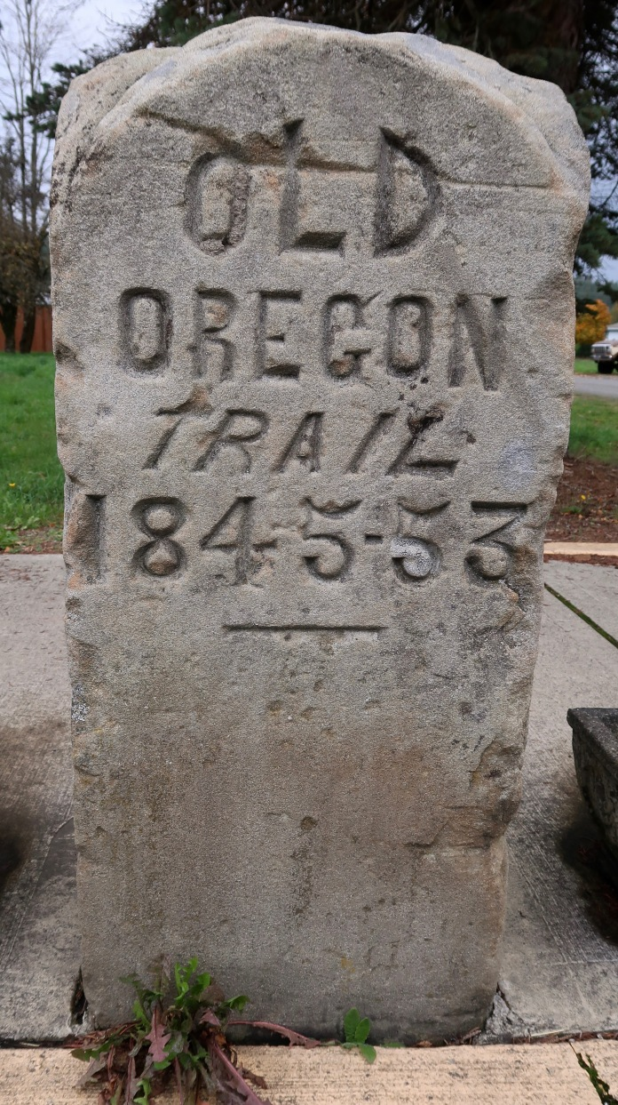 Oregon Trail Marker, Tenino, WA