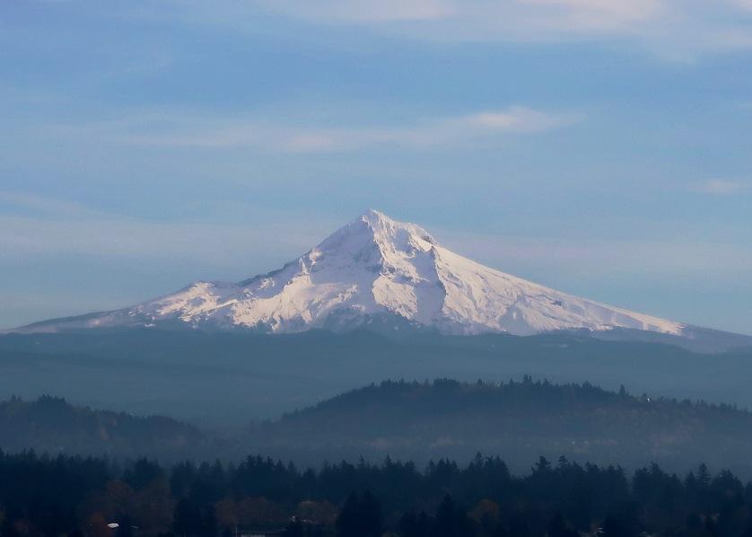 Mt. Hood with Fresh Snow