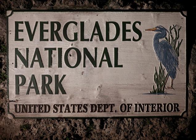 Everglades NP Sign