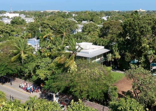 View of Hemingway's House