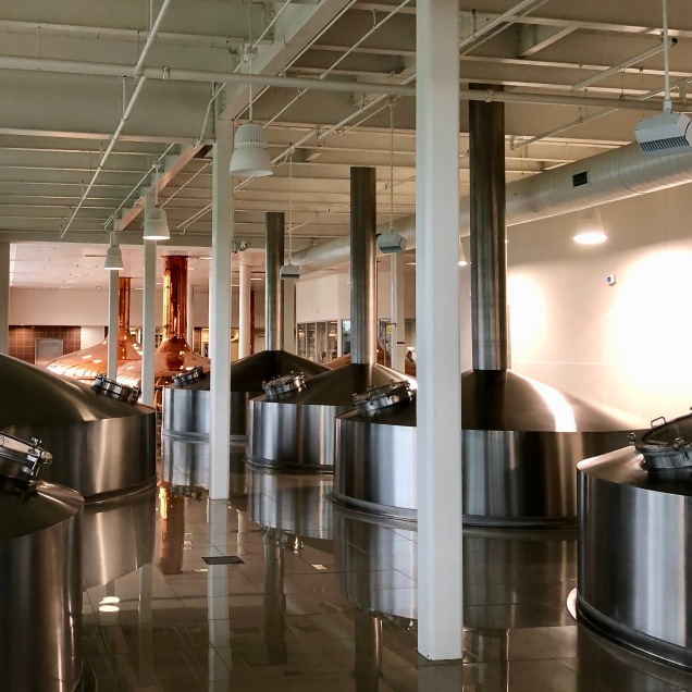 Old Copper Tuns, Newer Stainless