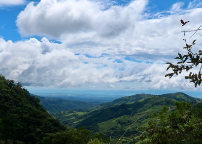West Toward Nicoya Peninsula